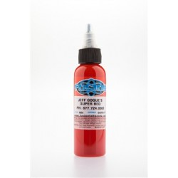 colore tatuaggio fusion ink super red 60 ml - jeff gogue