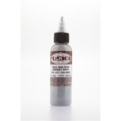 colore tatuaggio fusion ink smokey gray 30 ml rick walters