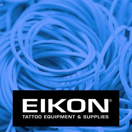 Elastici macchinette tatuaggio Eikon Bright Blue 1000 pz