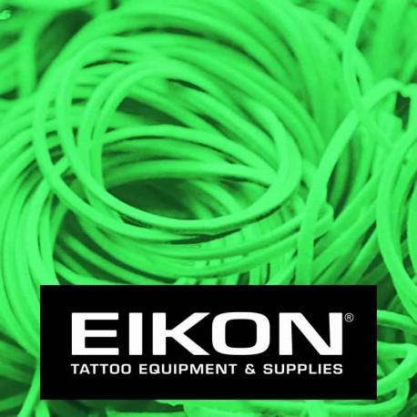 Elastici macchinette tatuaggio Eikon Bright Green 1000 pz