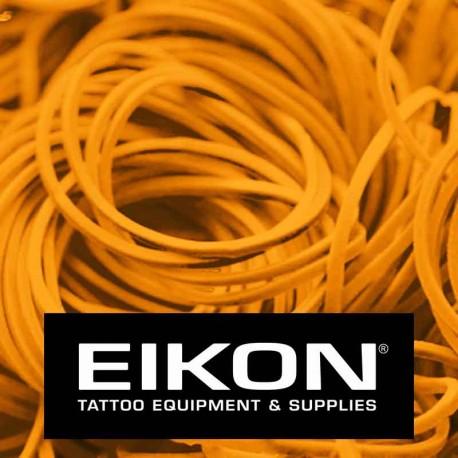 Elastici macchinette tatuaggio Eikon Bright Orange 1000 pz