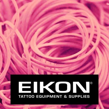 Elastici macchinette tatuaggio Eikon Bright Pink 1000 pz