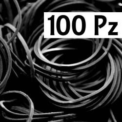 Elastici Pro Tat Black 100 pz