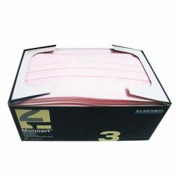 mascherina tattoo monouso colore rosa confezione 50 pz