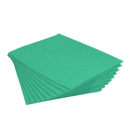 tovaglietta politenata assorbente verde
