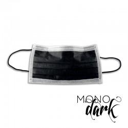 mascherina tattoo monouso colore nero confezione 50 pz