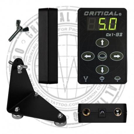 alimentatore critical cx1 g2 per macchine tatuaggio, tattoo power supply