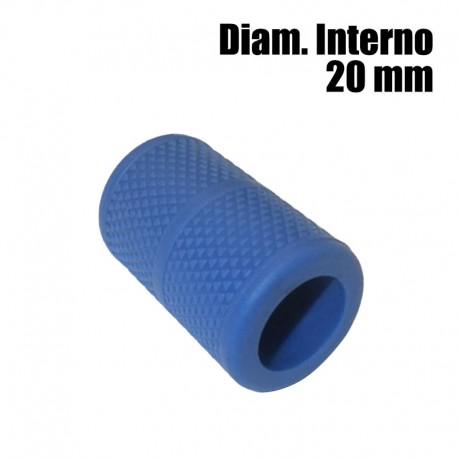 copri grip tatuaggio silicone blue 20mm