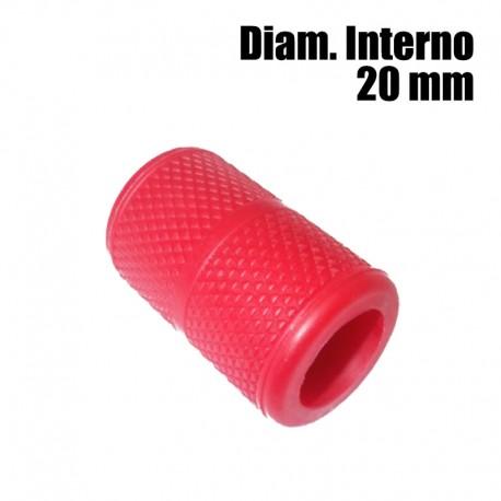 copri grip tatuaggio silicone rosso 20mm