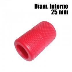 Copri Grip in silicone rosso – 25 mm