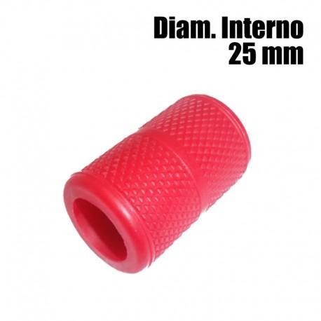copri grip tatuaggio silicone rosso 25mm