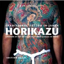 libro tatuaggio giapponese orientale horikazu tattoo book
