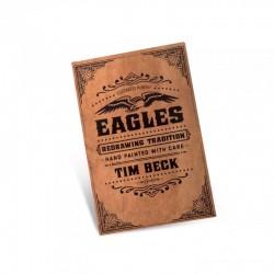 libro tatuaggio eagles redrawing tradition tim beck tattoo book