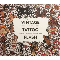 libro tatuaggio vintage tattoo flash jonathan shaw book
