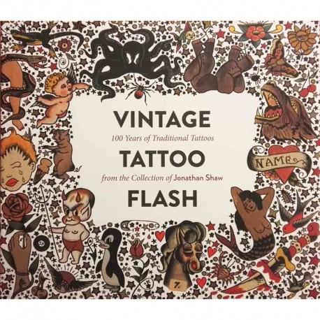 libro tatuaggio vintage tattoo flash jonathan shaw book