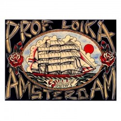 Prof. Loika Amsterdam by Bill Loika