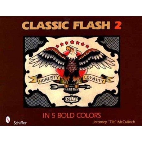 libro tatuaggio classic flash 5 bold colors jeromey tilt mcculloch tattoo book