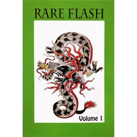 libro tatuaggio rare flash volume 1 maciste iron tattoo book