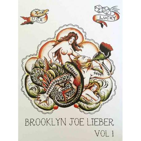 libro tatuaggio brooklyn joe lieber volume 1 maciste iron tattoo book