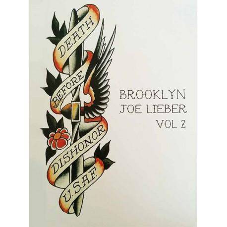 libro tatuaggio brooklyn joe lieber volume 2 maciste iron tattoo book