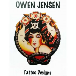 Owen Jensen Tattoo Designs by Beppe Pozzan
