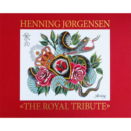 libro tatuaggio henning jorgensen the royal tribute tattoo book