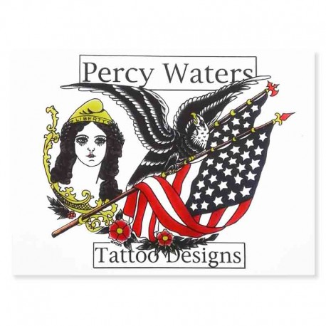 libro tatuaggio tattoo designs percy waters book