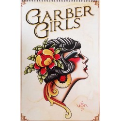 libro tatuaggio garber girls tattoo book