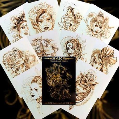 libro tatuaggio sake pearls & tears orge kalodimas
