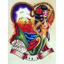 libro tatuaggio sail away jeanie newby tattoo book
