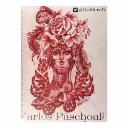 libro tatuaggio sketchbook volume 2 carlos paschoal tattoo book