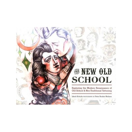 libro tatuaggio the new old school schultz booker nielsen tattoo book
