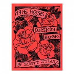 libro tatuaggio the rose design book scott sylvia tattoo book