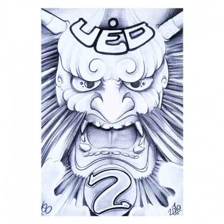 libro tatuaggio japanese sketchbook volume 2 ueo tattoo book