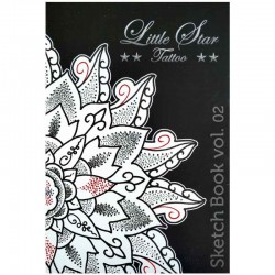 libro tatuaggio little star tattoo sketchbook 2 claudio comite book