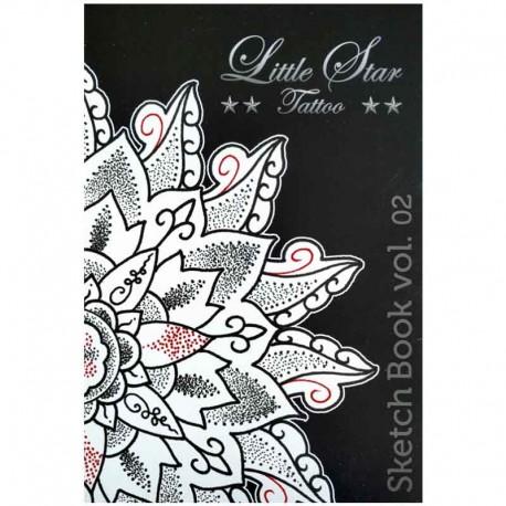 libro tatuaggio little star tattoo sketchbook 2 claudio comite book