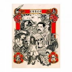 libro tatuaggio chicano sketchbook chuco tattoo book