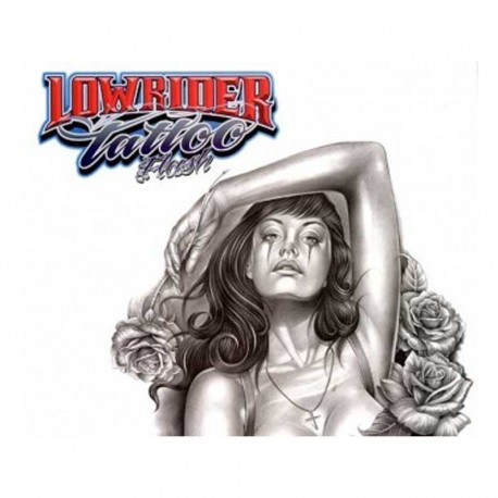 libro tatuaggio lowrider tattoo flash book