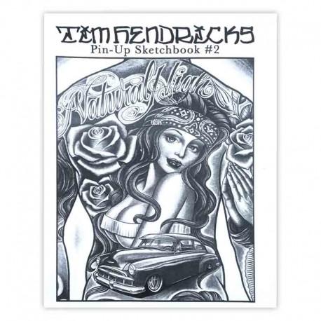 libro tatuaggio pin up sketchbook tim hendrix tattoo book
