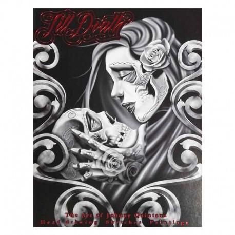 libro tatuaggio till death johnny quintana tattoo book