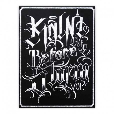 libro tatuaggio kalm before the storm volume 2 kalm one tattoo book