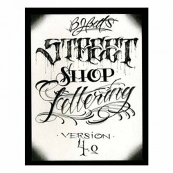 libro tatuaggio bj betts 4 street shop book & flash tattoo