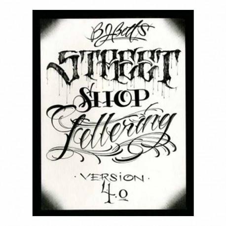 libro tatuaggio bj betts 4 street shop book & flash tattoo