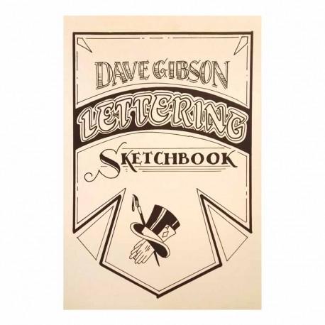 libro tatuaggio lettering sketchbook dave gibson tattoo book