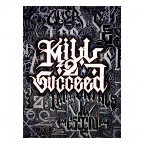 libro tatuaggio Kill 2 succeed big sleeps tattoo book