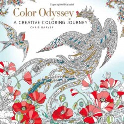 libro tatuaggio color odyssey creative coloring chris garver tattoo book