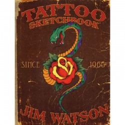 libro tatuaggio tattoo sketchbook jim watson tattoo book