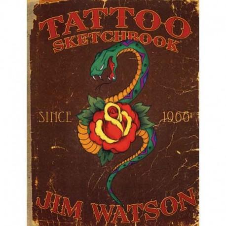 libro tatuaggio tattoo sketchbook jim watson tattoo book