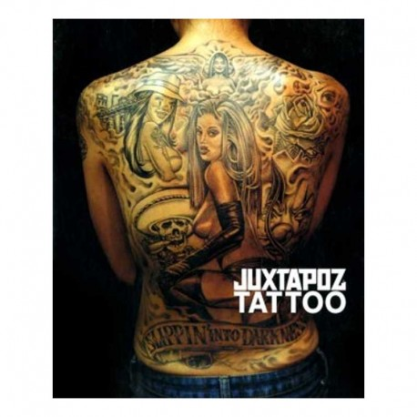 libro tatuaggio juxtapoz various artists tattoo book