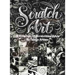 Scratch Art - A collection of Scratchboard Art by Tattoo Artists by Various Artist